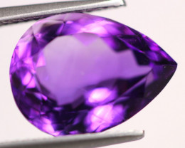 6.55Ct Purple Amethyst Pear Cut Lot LZ2820
