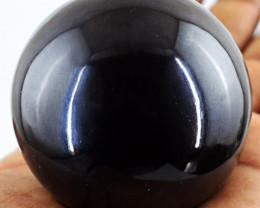 Genuine 1037.50 Cts Black Spinel Healing Ball
