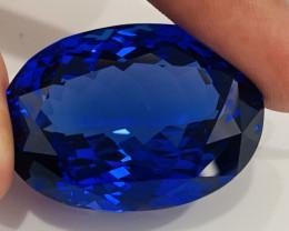 vvs clean tanzanite gemstone