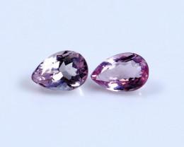 0.95 CT Certified|GGTI~ Pink Morganite Gemstone Pair