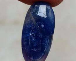 GENUINE BLUE SAPPHIRE ROSE CUT GEMSTONE NATURAL+UNTREATED VA200