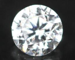 2.10mm D-F Color VS Clarity White Diamond