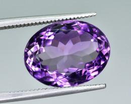 8.11 Crt Natural Amethyst Faceted Gemstone.( AG 64)