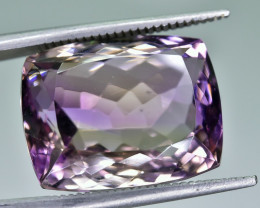15.18 Crt Natural Ametrine Faceted Gemstone.( AG 64)
