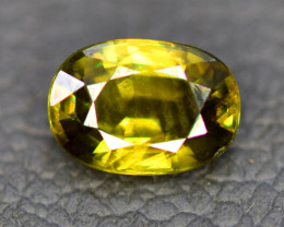 1.20 CT Natural Full Fire Sphene Titanite Gemstone