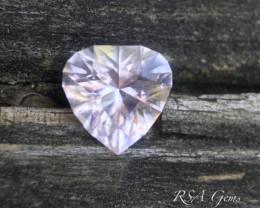 Pink tourmaline heart - 3.65 carats