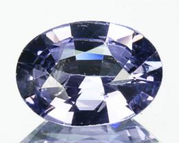 0.89 Cts Natural Spinel Purplish Blue Oval Cut Burmese