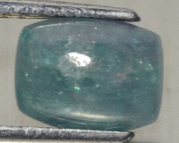 2.34 Cts GIT Certified Blue Green Natural  Paraiba Gemstone