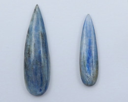2pcs Blue Kyanite,kyanite,Healing Crystals,Protection Crystal D136