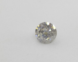 0.805ct G-I1  Diamond , 100% Natural Untreated