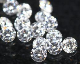 1.1mm 15Pcs D/E/F VS Natural Diamond Parcel Lot Auction