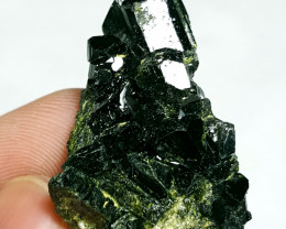 Lovely damage free Epidote cluster have good luster 115Cts-Afghan