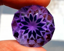 Amethyst, 38.30 Cts Natural Top Color & Cut Amethyst Gemstones