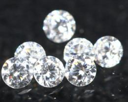 1.10mm 7Pcs D-F Color VS Clarity Diamond Parcel Lot Auction