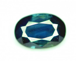1.1 CT  Top Quality Oval Cut Parti Sapphire Gemstone