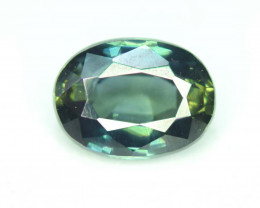 1.35 CT Top Quality Oval Cut Parti Sapphire Gemstone