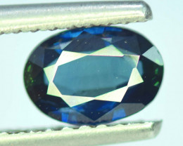 1.55 CT Top Quality Oval Cut Parti Sapphire Gemstone