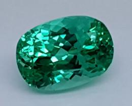 5.90Crt Green Spodumene  Natural Gemstones JI06