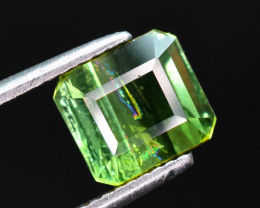 2.25 carats Green color Tourmaline Gemstone From Afghanistan
