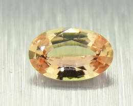 Unheated  Orange Sapphire , well-cut (01539)