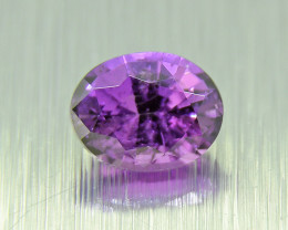 N/R Unheated Purple Sapphire, amazing deep purple 0.39ct  (01540)