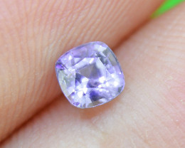 Unheated Light Blue Sapphire, well-cut & good brilliance (01552)