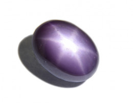 Natural Untreated Violet Star Sapphire 2.15ct (01589)