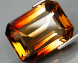 21.87 Ct. Natural  Champagne Topaz Brazil Perfect Shape