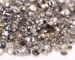 9.55Ct Natural Salt And Pepper Diamond Parcel Lot Auction