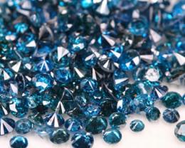 9.56Ct Fancy Vivid Electric Blue natural Diamond Auction Lot