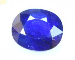 8.58ct Blue Sapphire Oval Cut Lot V4564