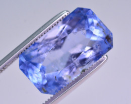 7 Ct Brilliant Color Natural Aquamarine
