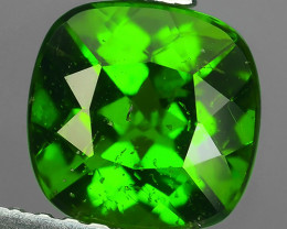 1.55 CTS NATURAL ULTRA RARE CHROME GREEN DIOPSIDE RUSSIA