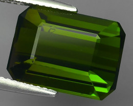 8.90-CTS AMAZING NATURAL RARE LUSTROUS GREEN TOURMALINE