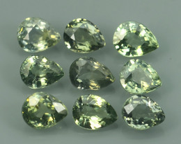 4.00 CTS GENUINE NATURAL EARTH MINED HEATED NICE COLOUR GREEN SAPPHIRE NR
