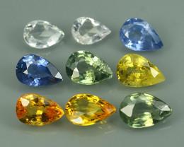 4.35 Cts Natural Intense Beautiful Fancy Sapphire pear Shape