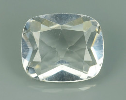 5.75 CTS TOP DAZZLING NATURAL ULTRA  WHITE TOPAZ