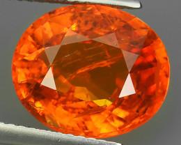 8.20 Cts Unheated Natural Orange Spessartite Garnet Namibia Gem