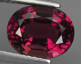 3.30 cts excellent~Natural Raspberry Pink Tourmaline oval Cut Mozambique Ge