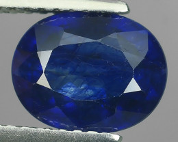 3.05 Cts Natural Intense Beautiful Blue Sapphire Oval Shape From MADAGASCAR
