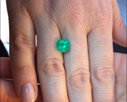 2,46ct Colombian Emerald Ref 33/76  Colombian Emerald Colombian Eme