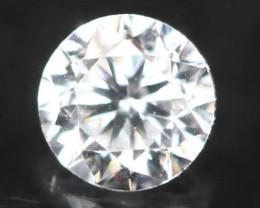 2.40mm D-F Color / VS Clarity Round Brilliant Cut Diamond