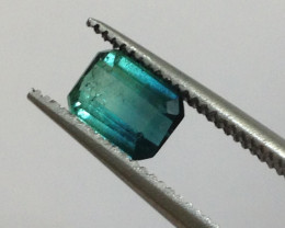 Natural Blue Tourmaline 0.97ct.