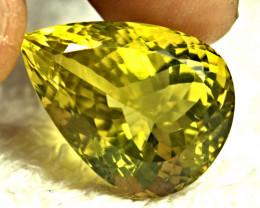 27.09 Carat African VVS Lemon Quartz - Beautiful