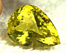27.09 Carat African VVS Lemon Quartz - Beautiful