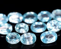 13.20 carats Blue Zircon parcels