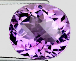 10.92 Ct Natural Amethyst Awesome Color & Luster Gemstone AM8