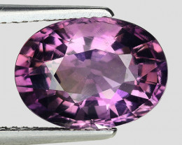 4.12 Ct Natural Amethyst Awesome Color & Luster Gemstone AM13