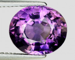 4.68 Ct Natural Amethyst Awesome Color & Luster Gemstone AM15
