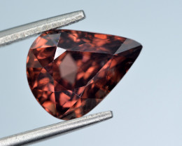 5.95 Ct Amazing Color Natural Pink Zircon ~ Cambodia Z3